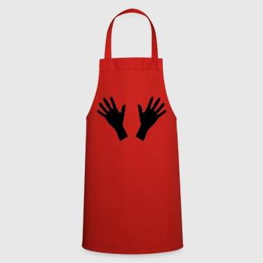 hands, handprint - Cooking Apron