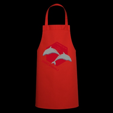 Dolphins Spirit Animals Gift Idea - Cooking Apron