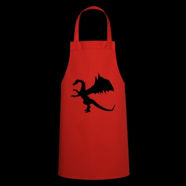 Standing dragon - Cooking Apron
