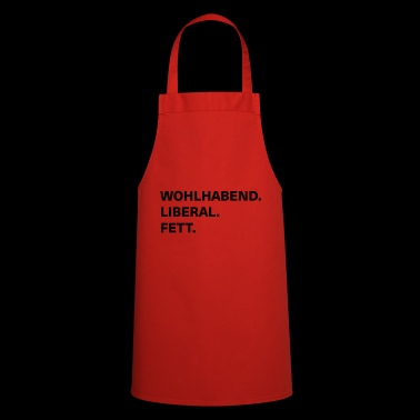 wealthy liberal fat - Cooking Apron