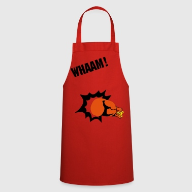 boxing punch - Cooking Apron