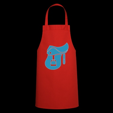 Saddle horse rider - Cooking Apron
