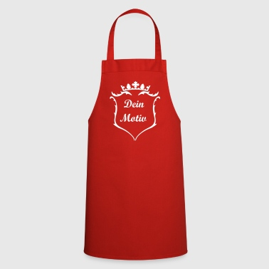 A crest with crown - Cooking Apron