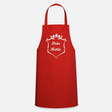 Crest A crest with crown - Cooking Apron