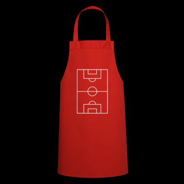 Football pitch player kicking funny style tour - Cooking Apron