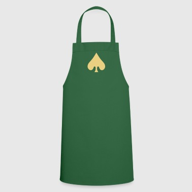 poker card / spades - Tablier de cuisine