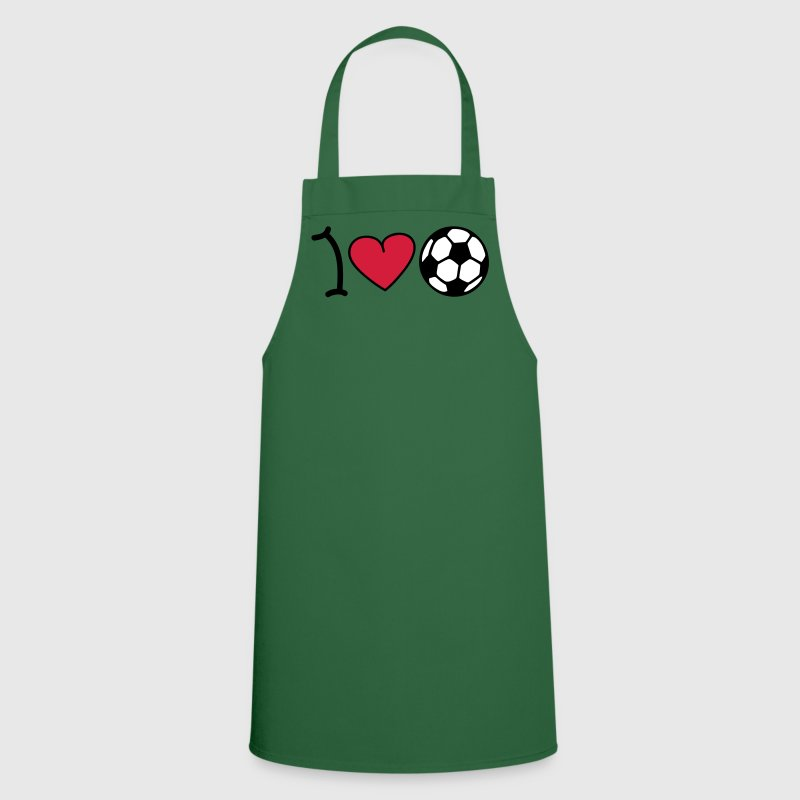 I love football - Keukenschort