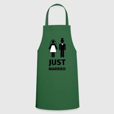 just married - Delantal de cocina