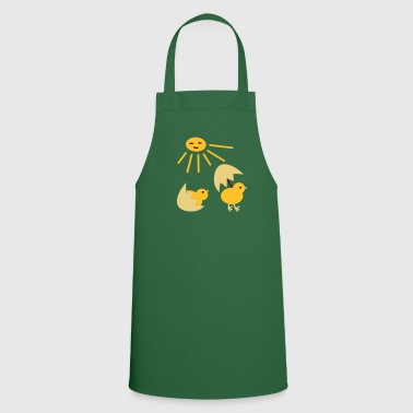 Chickens Spring Easter cuteness design Patjila - Cooking Apron