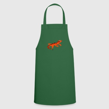 Stripped gecko - Cooking Apron
