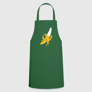 A peeled banana - Cooking Apron