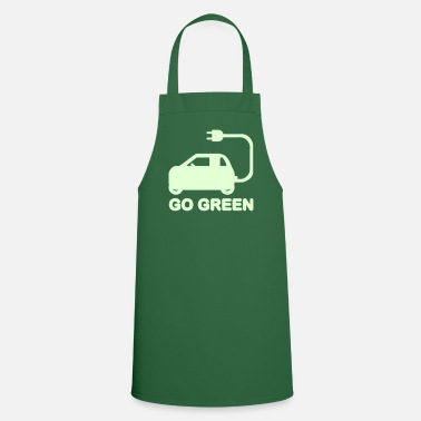 Drive Go By Car GO GREEN ~ DRIVE ELECTRIC CARS - Cooking Apron