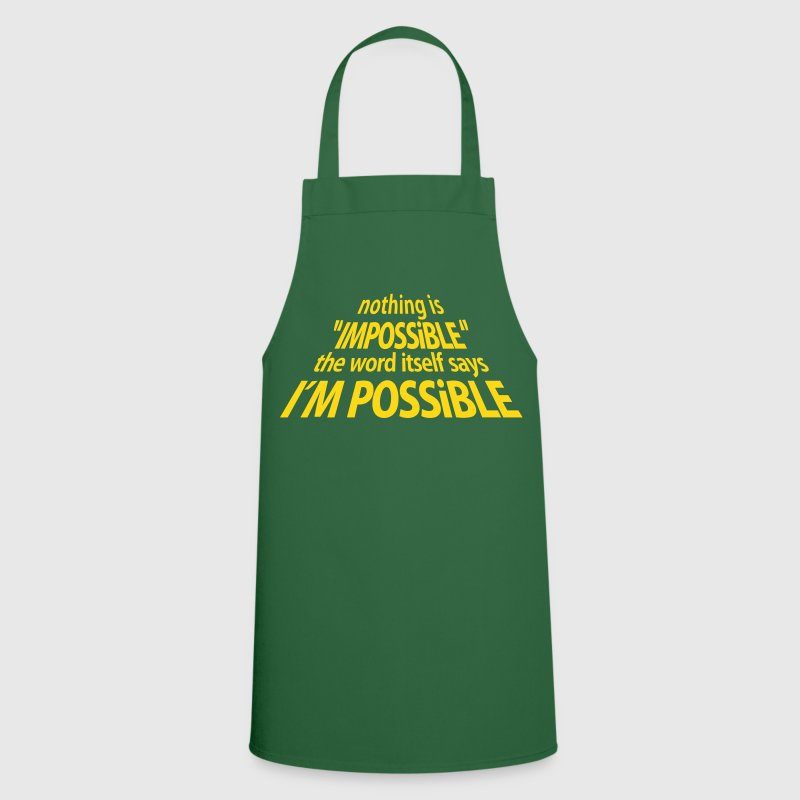 impossible I'm Possible 3D (1c) - Cooking Apron