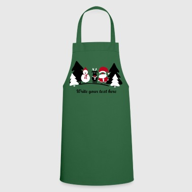christmas crew 2 - Cooking Apron