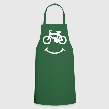 Bicyclette Smiley - Tablier de cuisine