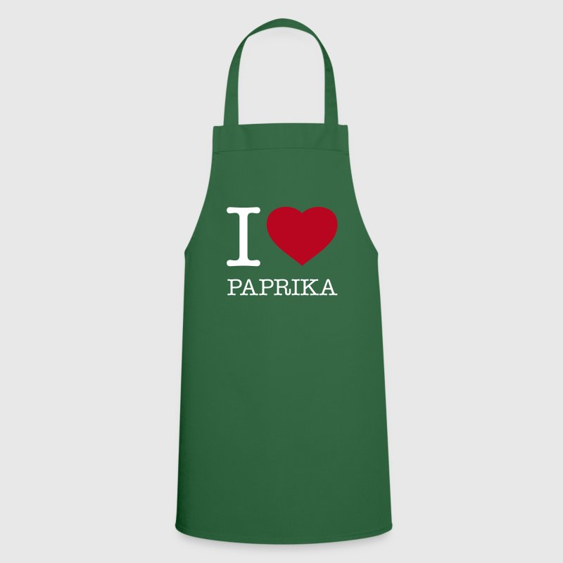 I LOVE PAPRIKA - Cooking Apron