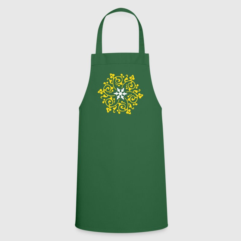 Orientalisches Blumen-Ornament / oriental flower pattern (2c) - Cooking Apron