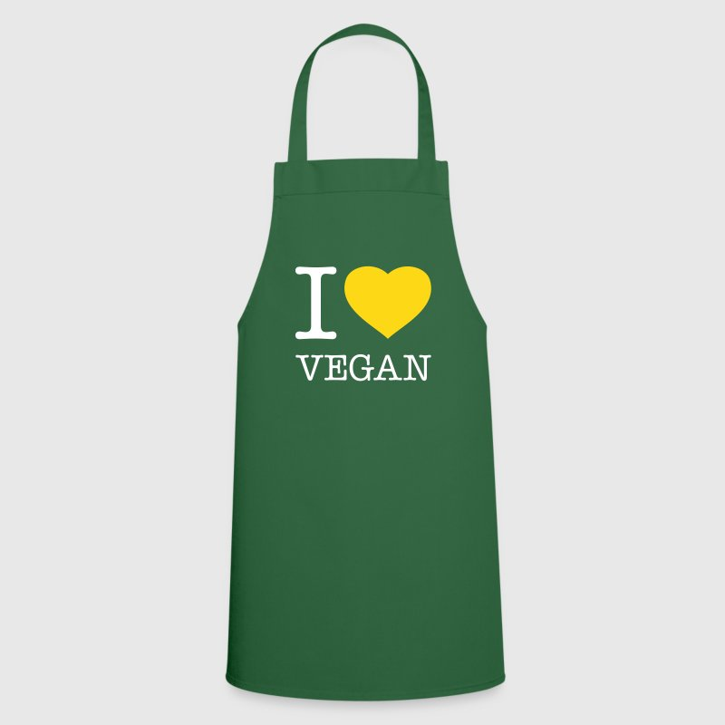 I LOVE VEGAN - Tablier de cuisine