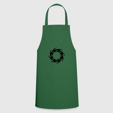 saw blade TribalTattooRuneS - Cooking Apron
