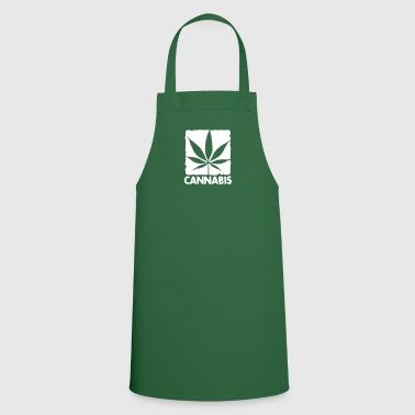 cannabis leaf boxed - Cooking Apron