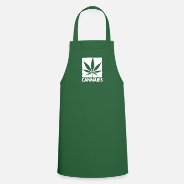Leaf cannabis leaf boxed - Cooking Apron