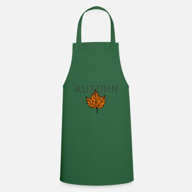 Feeling Autumn leaves thanksgiving fruits gift idea - Apron
