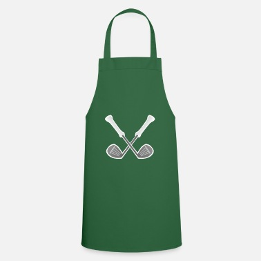 Cross Golf Crossed golf clubs - Apron
