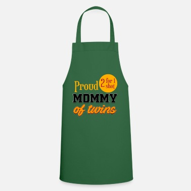 Day mother s day of twins - Apron