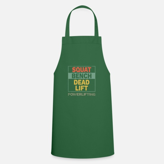 Power Lifting Aprons - Powerlifting powerlifting weightlifting gift - Apron green
