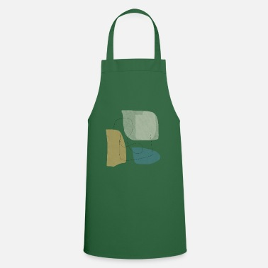 Form Underwear Minimalistic abstract background N3 - Apron