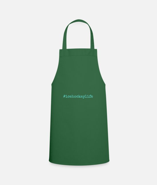 Cards Aprons - Icehockeylife - Apron green