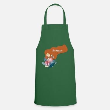 Happy Be Happy - Be Happy - Apron