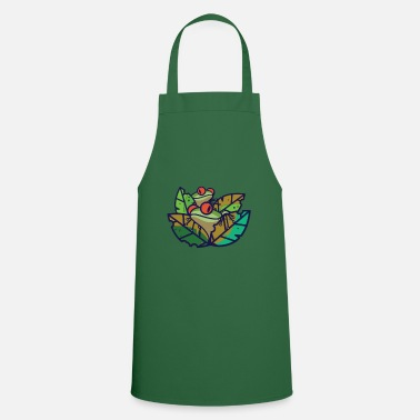 Frog Frog - frogs in the pond - Apron