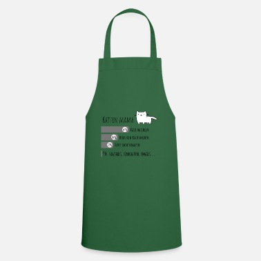 Mama Design Cat Mama Catmum Design - Apron