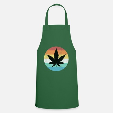 Smoke Weed leaf - Cooking Apron