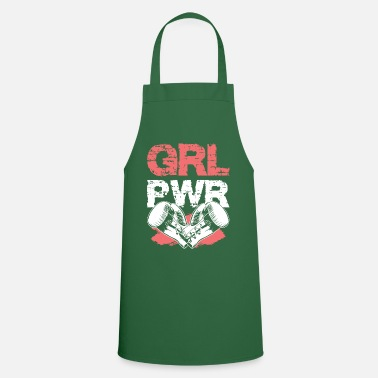 Kö Boxing girl power girl boxing - Apron