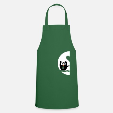 Couple Owls right - Valentine'S Day - Apron