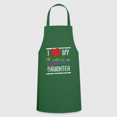 I Love My Lesbian Daughter Washed - Cooking Apron