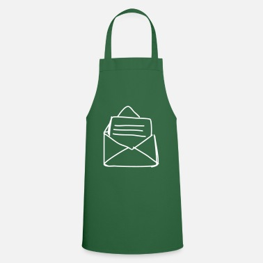 Piece Of Paper Open envelope - Cooking Apron