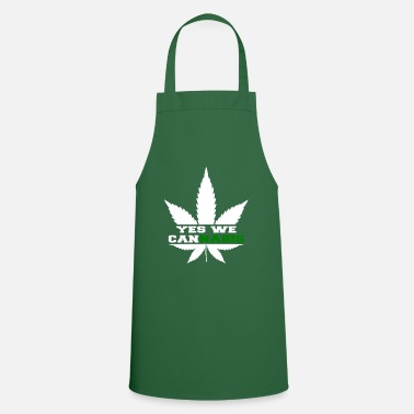 Tuxedo Yes we cannabis - Cooking Apron