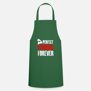 Funny funny fitness tshirt cool fitness gift - Apron