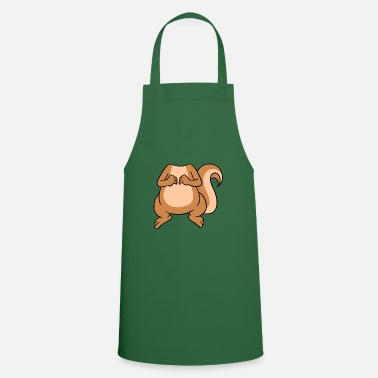 Head No Head My Head Is Squirrel Head - Apron