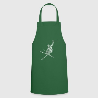 Chic Apres Ski Ischgl T-shirt winter sports gift idea - Cooking Apron