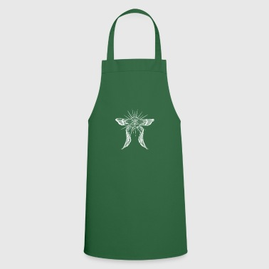Thrash Indian moth gothic style psychadelic - Cooking Apron