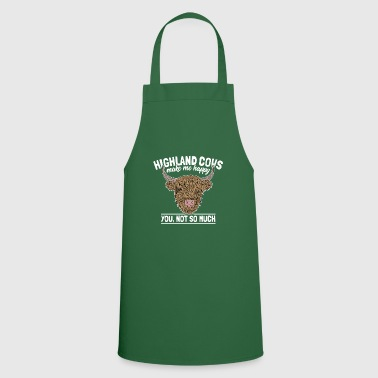 Highland Highland Cattle Highland Funny Farmers Saying - Cooking Apron