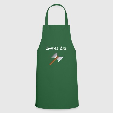 Pixel Double ax - Cooking Apron