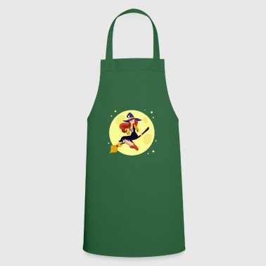 Wicca Witch Broom Halloween Gift Wicca HexHex - Cooking Apron