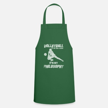 Philosophy Volleyball Philosophy setting - Cooking Apron