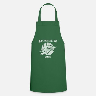 Draguer Sports de drague de volleyball disant - Tablier de cuisine