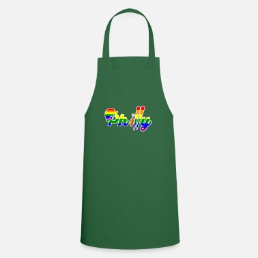 Sunny Philly Gay Pride Baseball & Cheesesteak Philadelphia - Cooking Apron
